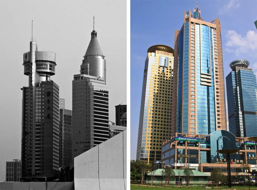 Shanghai Skyscrapers 2009, (c) Markus Holzhaeuser