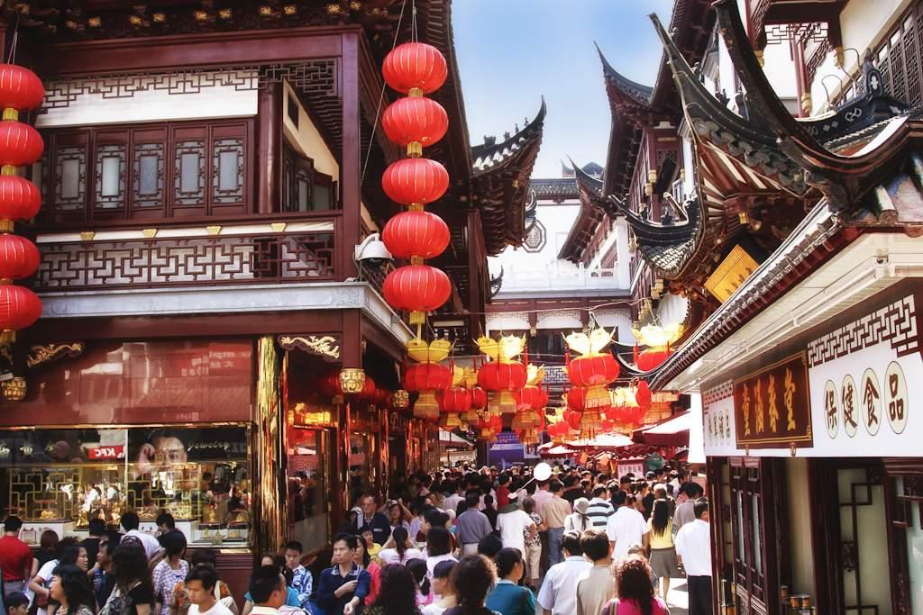 Shanghai Altstadt 2009, (c) Markus Holzhaeuser