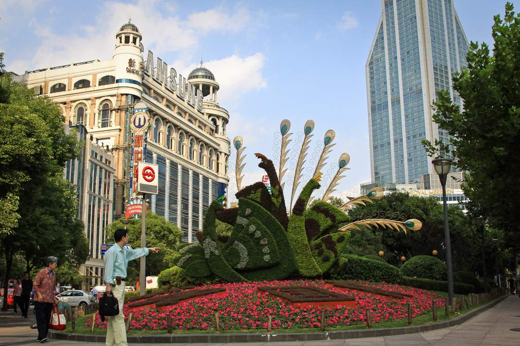 Shanghai - Kunst des Heckenschnitts 2009, (c) Markus Holzhaeuser