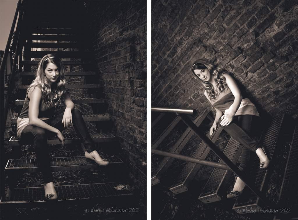 Fotoshooting mit Svenja, (c) Markus Holzhäuser