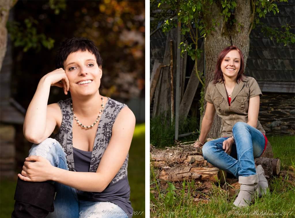 Fotoshooting mit Evi, Anna-Lena und Nicki, (c) Markus Holzhäuser