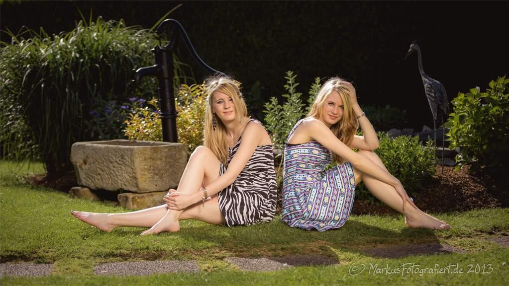 Tara & Sydda - Spontanes Fotoshooting mit Tara und Sydda 2013, (c) Markus Holzhaeuser