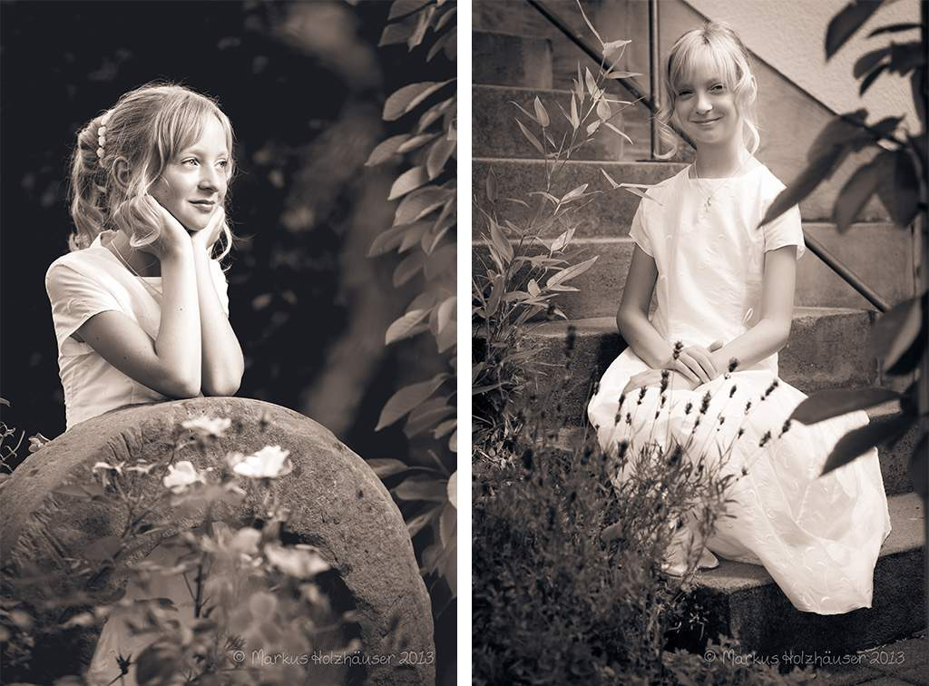 Fotoshooting mit Anna Elisa, Anna Maria und Kristin, Bundenbach 2013, (c) Markus Holzhäuser