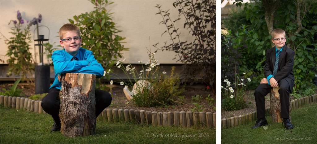 Fotoshooting mit Anna Maria und Jakob, Bundenbach 2013, (c) Markus Holzhäuser