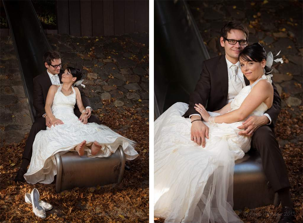 Hochzeitsshooting mit Ramona & Thomas, Schülerkiesel Kirn 2013, (c) Markus Holzhäuser